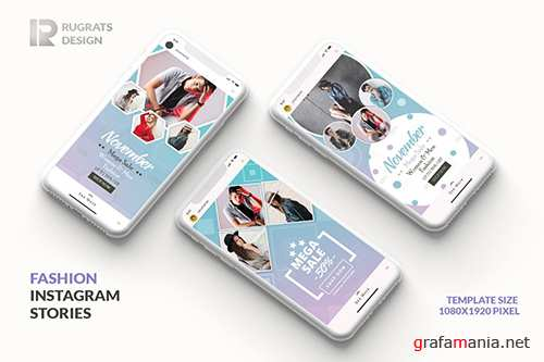 Fashion R1 Instagram Story Template PSD