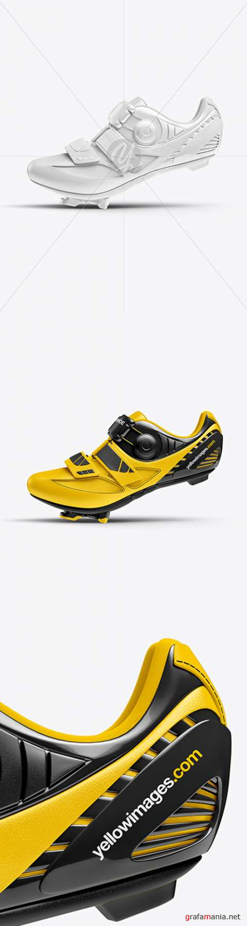 Cycling Shoe Mockup - Side View 31323