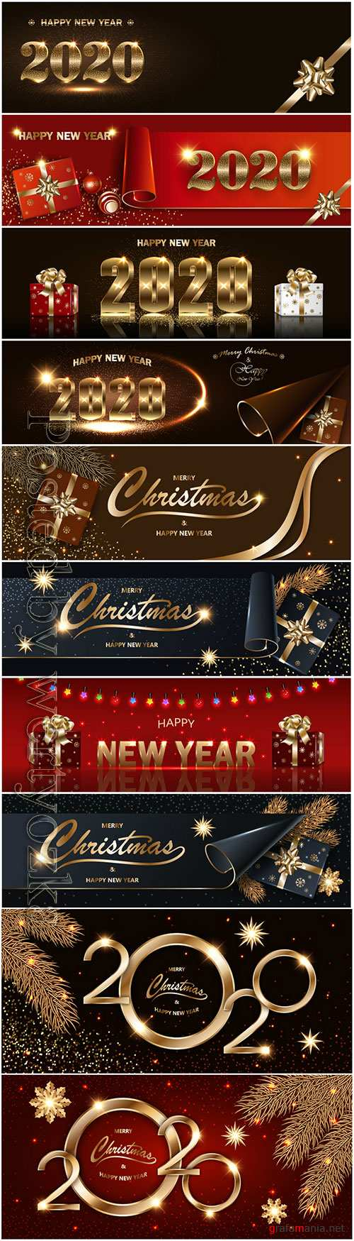 Merry Chistmas and Happy New Year 2020