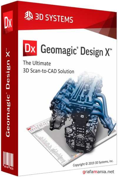 3D Systems Geomagic Design X 2019.0.2.43