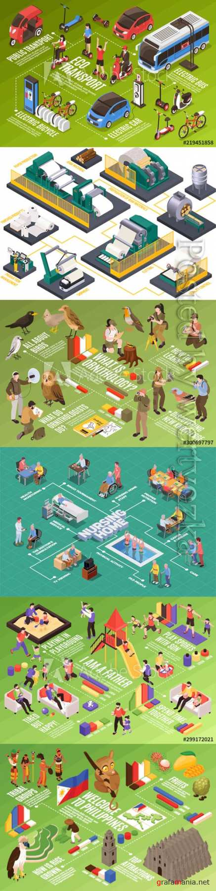 Flat isometric vector 3D concept illustration # 79
