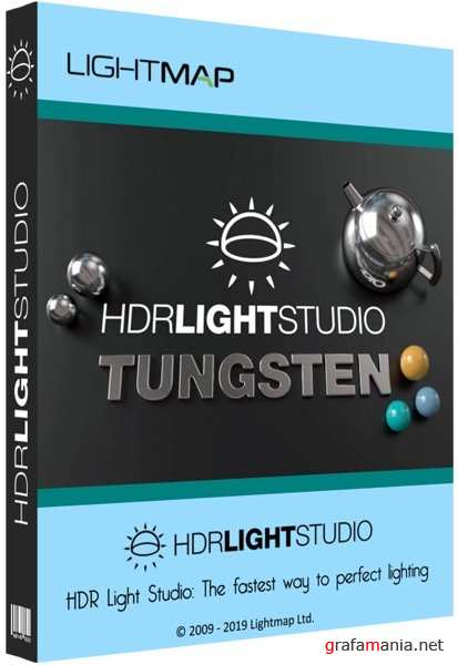Lightmap HDR Light Studio Tungsten 6.3.0.2019.1205