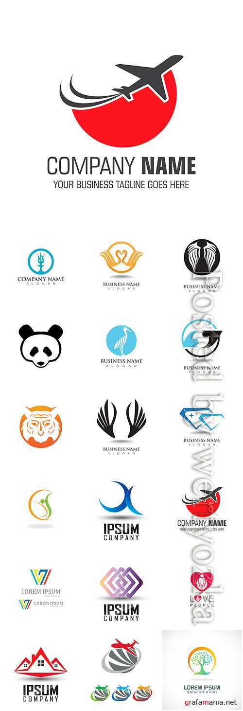 Company business logo in vector # 9