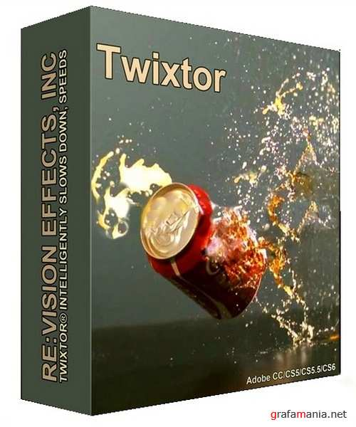 Re:Vision Effects Twixtor Pro 7.3.0 Plug-in for AE & AP