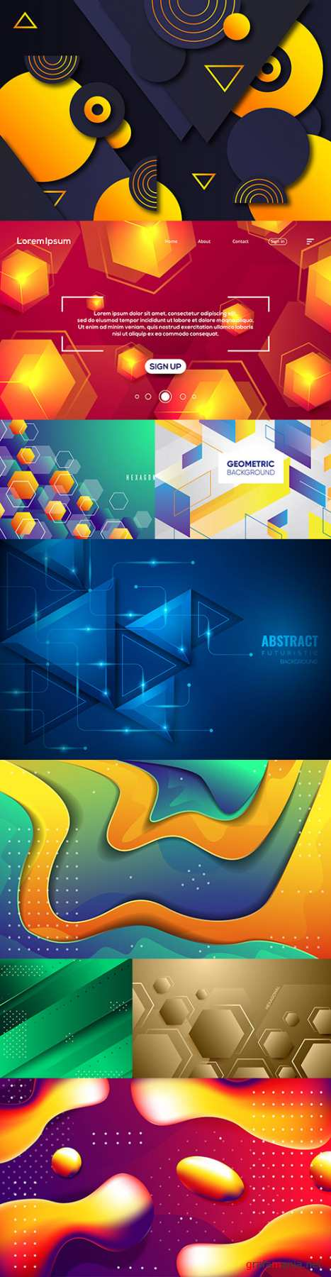 Abstract background and design decorative element