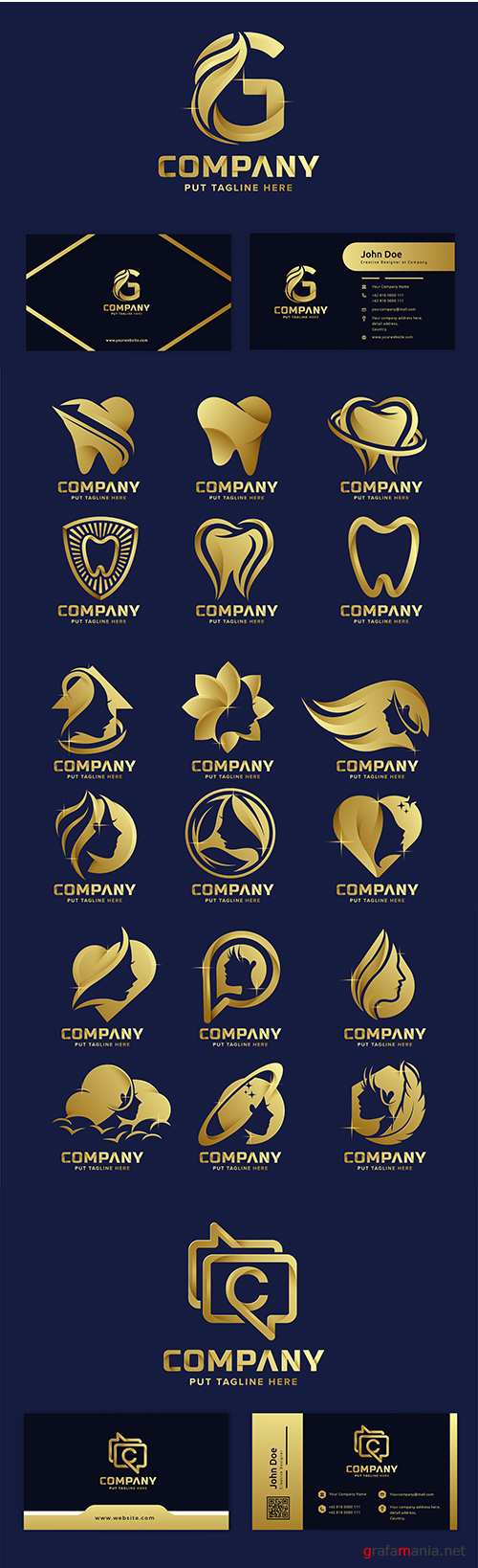 Premium luxury logos corporate company design 44