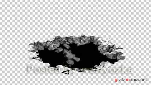 Videohive - Ground Collapse -  25509572