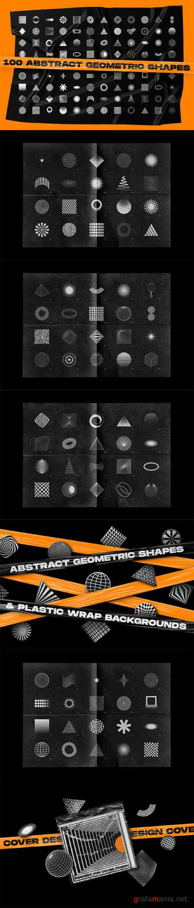 Abstract Shapes & Backgrounds