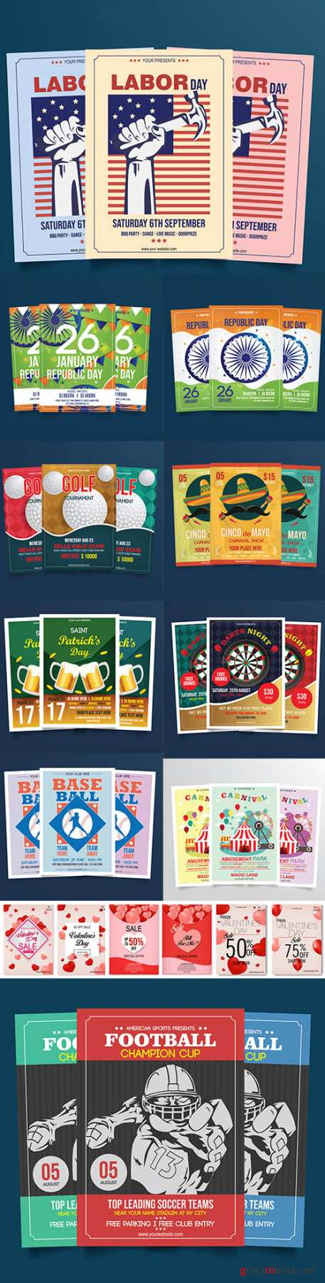 Mix Flyer Template Bundle Vol 6