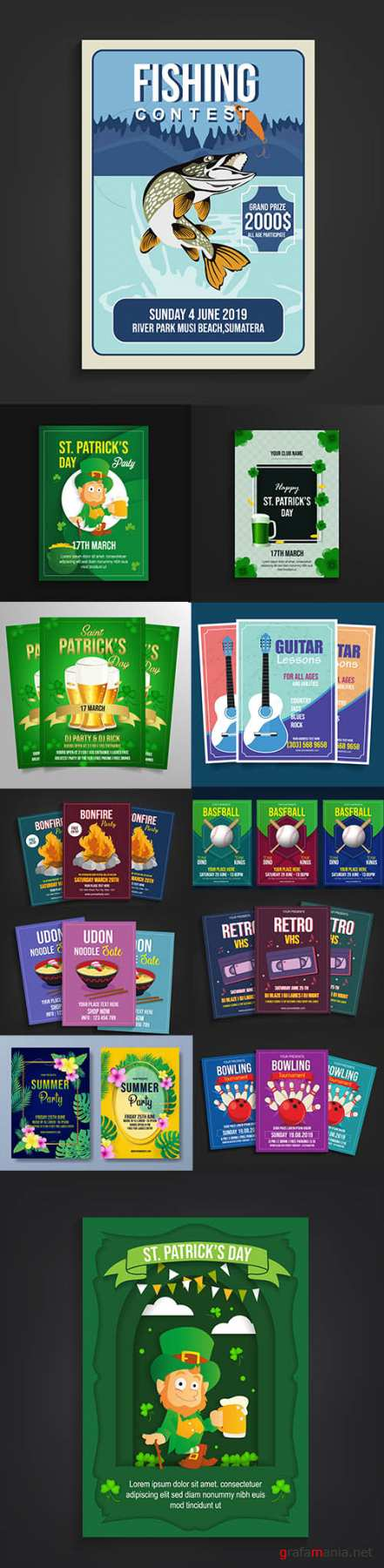 Mix Flyer Template Bundle Vol 3