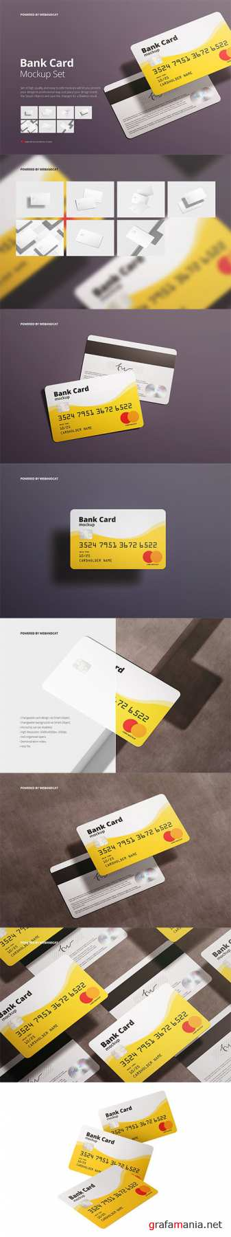 Bank / Membership Card Mockup