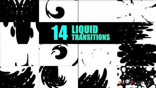 14 Animated Liquid Transitions 122156597