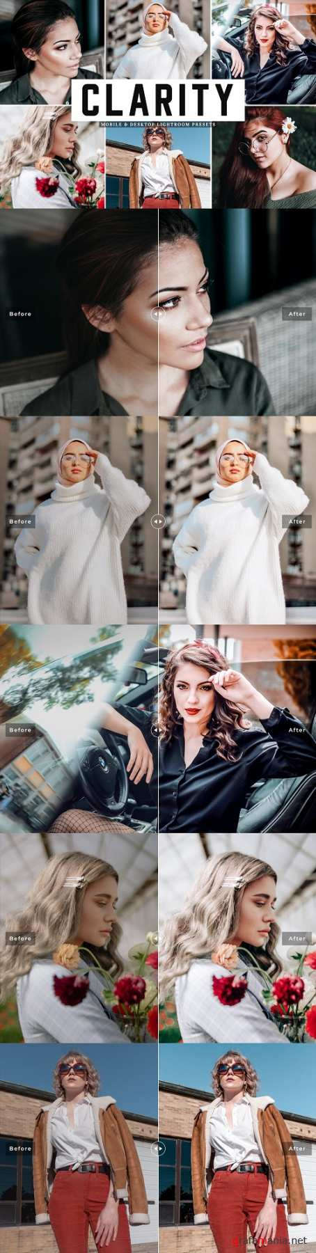Clarity Lightroom Presets Pack - 4651228 - Mobile & Desktop