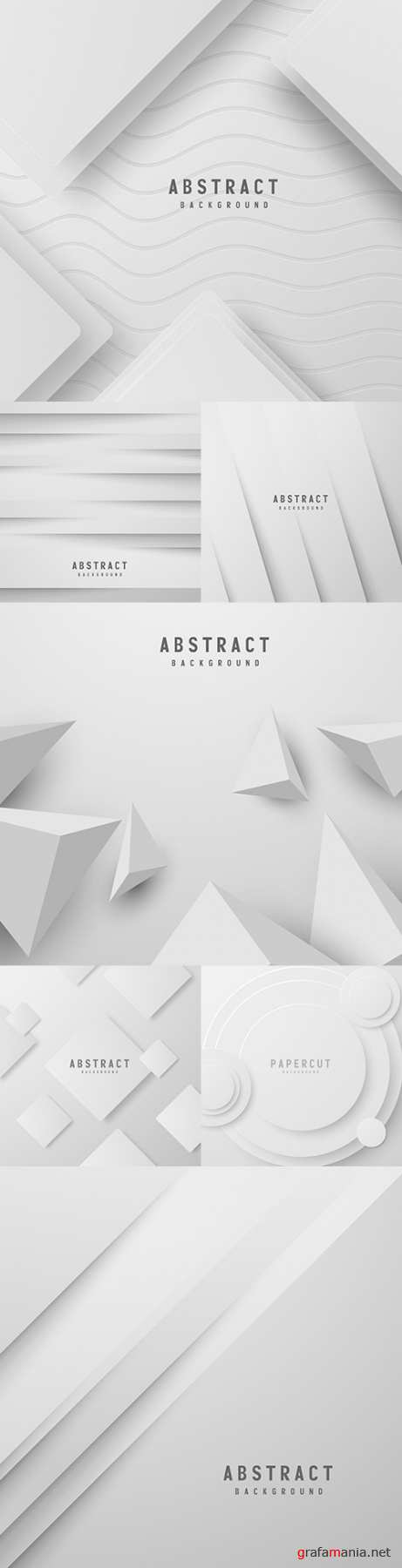 Topography white paper abstract background paper