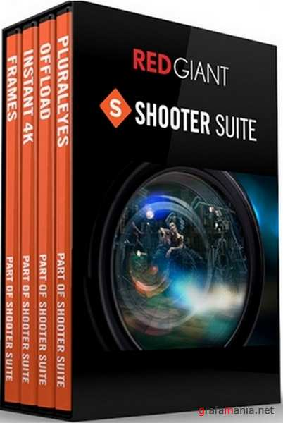 Red Giant Shooter Suite 13.1.9