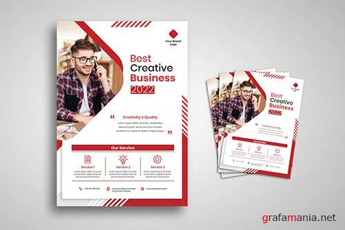 Creative Business Agency Flyer