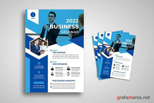 Business Seminar Flyer