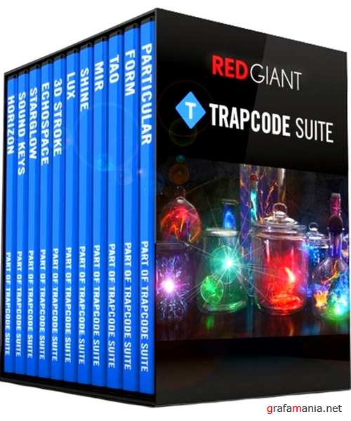 Red Giant Trapcode Suite 15.1.1 Plugins for AE & AP Repack