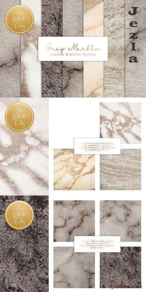 Gray Marble Texture Backgrounds - 4766161