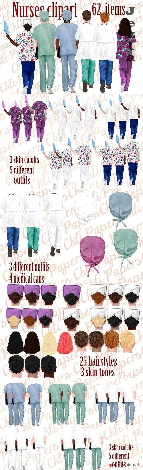 Nurses clipart,Medical clipart - 4768641