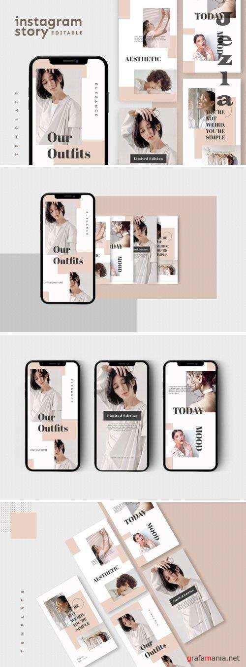 Instagram Story Template - 4755827