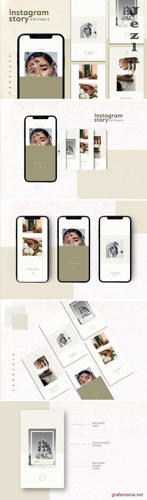 Instagram Story Template - 4762261