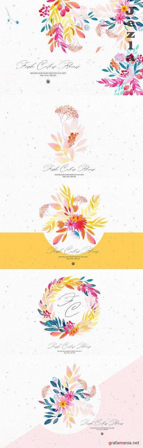Fresh Colors Flowers - 4779300