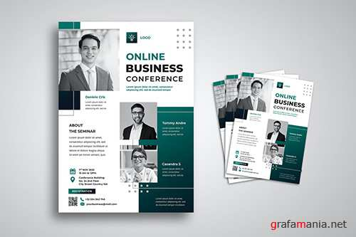 Online Business Conference Flyer