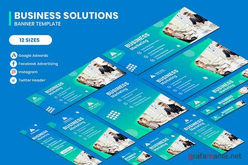 Business Marketing Google Adwords Banner Template
