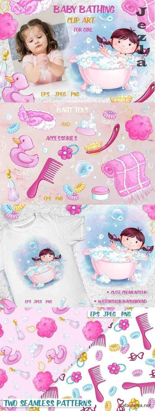 Baby bathing (for girls) - 642550