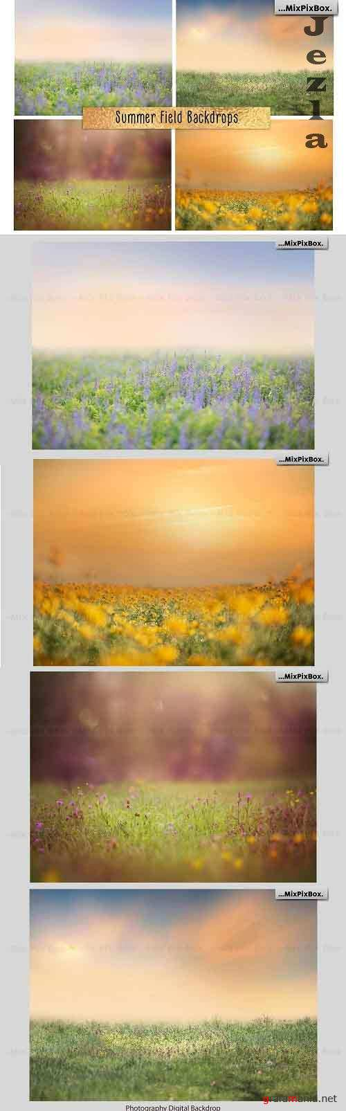 Summer Field Backdrops - 4970525