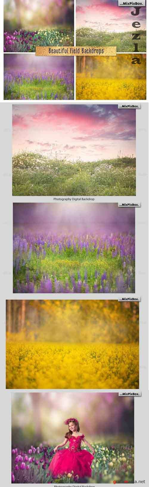 Beautiful Field Backdrops - 4970510