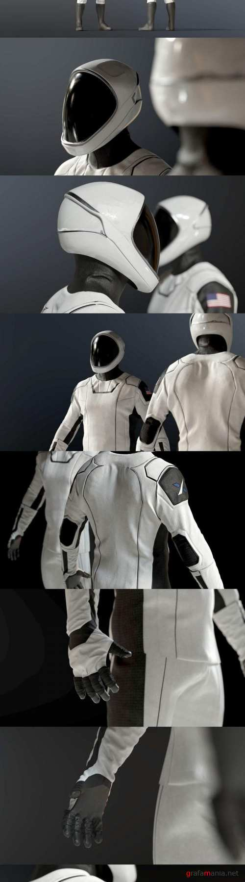 SPACESUIT SpaceX Dragon Starman