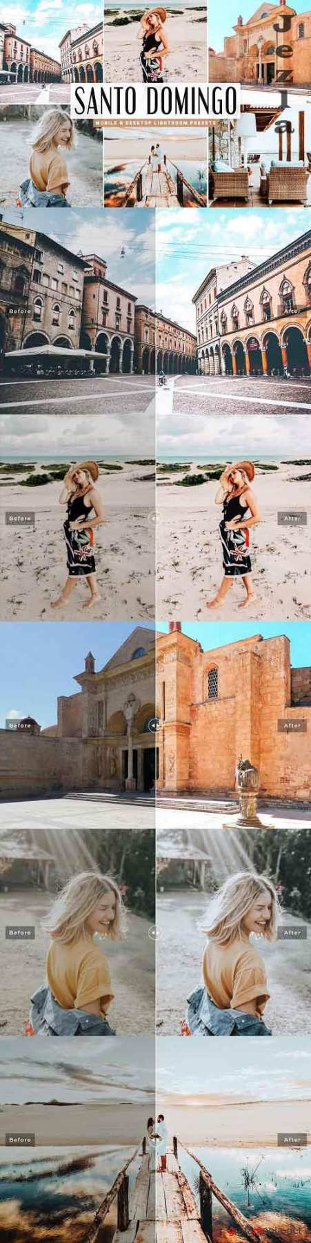 Santo Domingo Lightroom Presets Pack - 5015432 - Mobile & Desktop