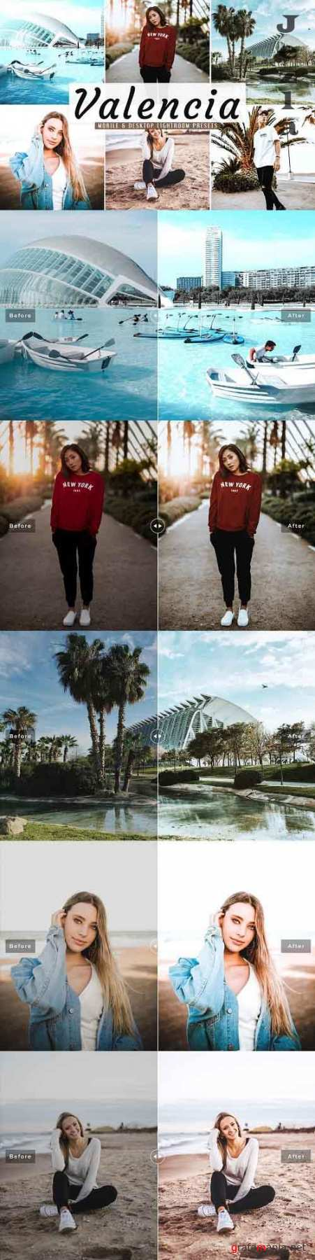 Valencia Pro Lightroom Presets - 5015711 - Mobile & Desktop
