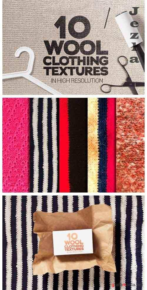 Wool Clothing Textures x10 - 5037206