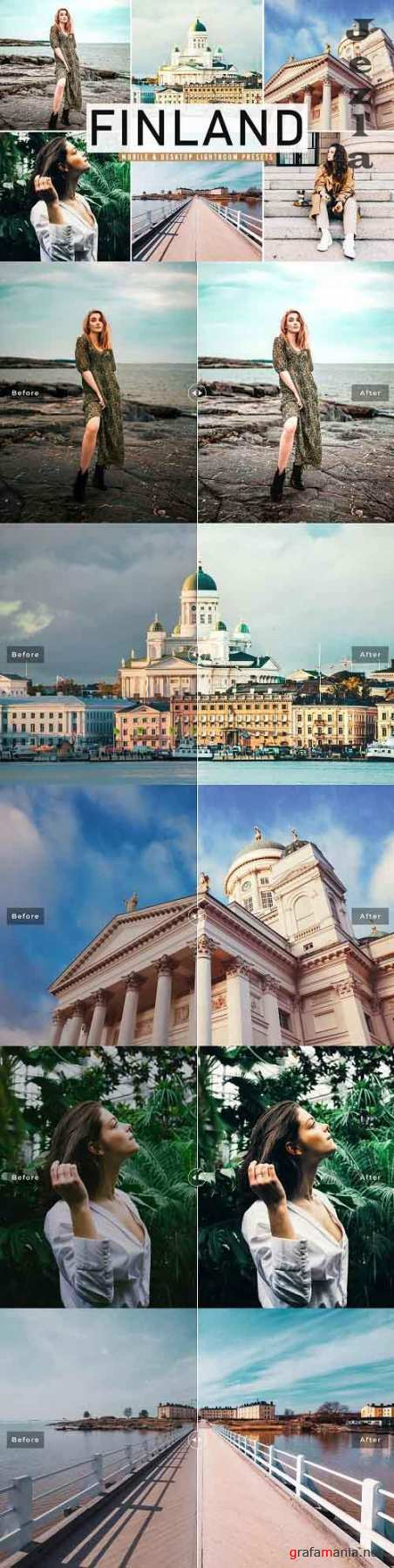 Finland Lightroom Presets Pack - 5039157 - Mobile & Desktop