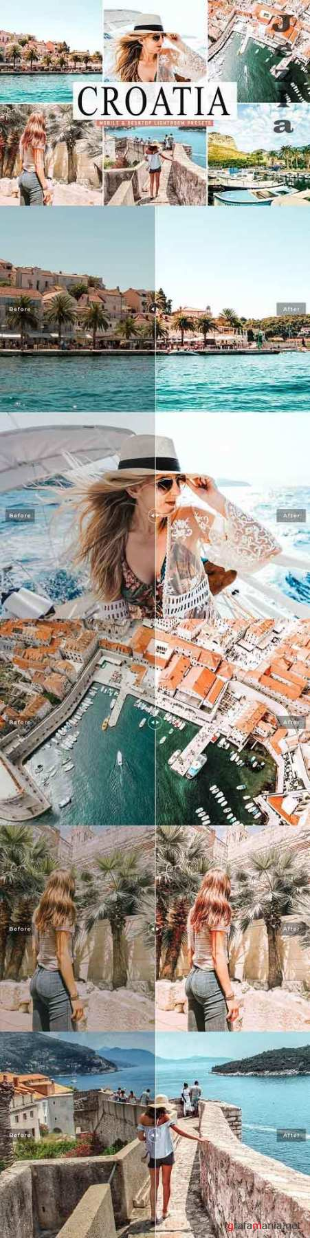 Croatia Lightroom Presets Pack - 5039061 - Mobile & Desktop