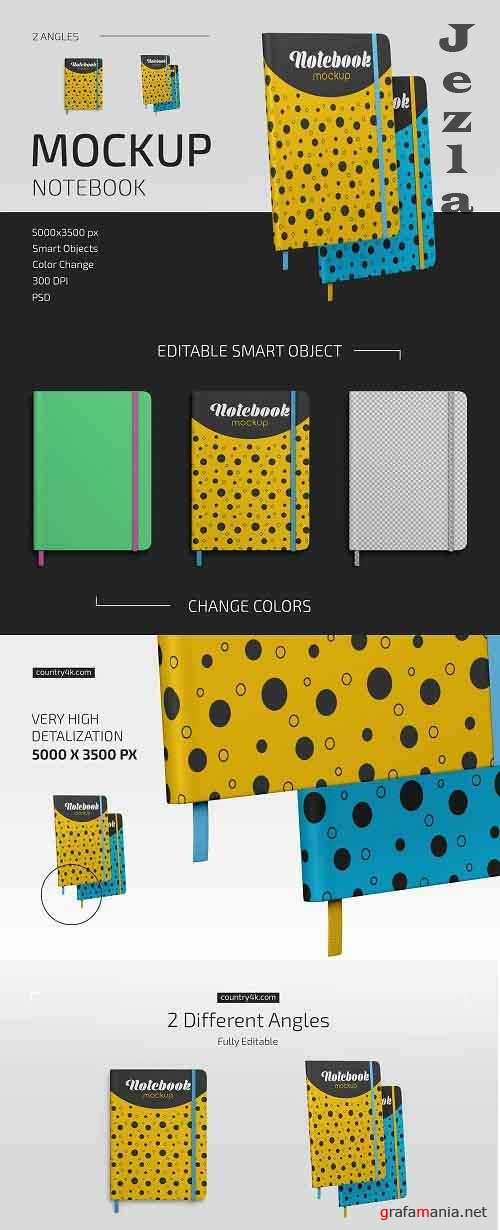 Notebook Mockup Set 5064090