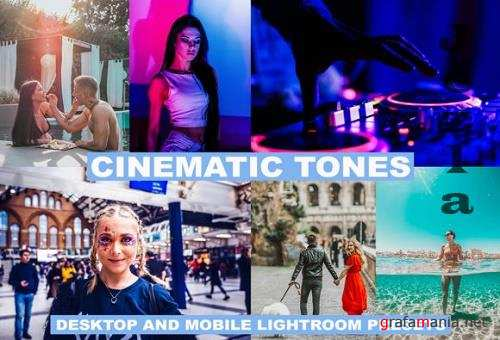 10 Lightroom Presets Cinematic Tones