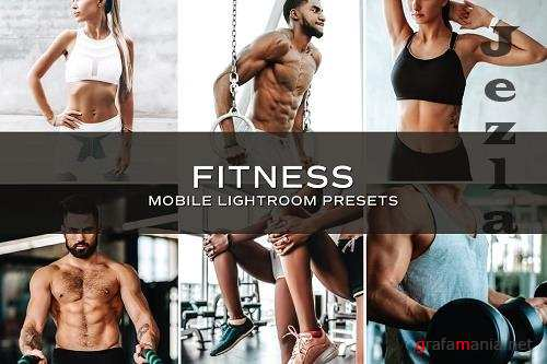 CreativeMarket - 5 Fitness Lightroom Presets 5701237