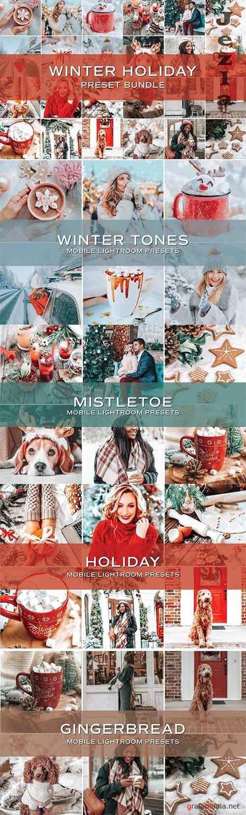 CreativeMarket - 20 Holiday Lightroom Preset Bundle 5701823