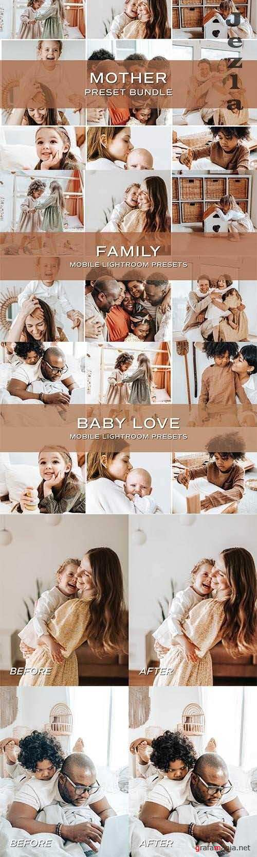 CreativeMarket - 10 Family Lightroom Preset Bundle 5701850