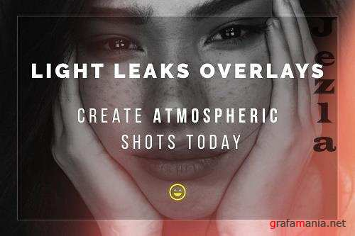 CreativeMarket - Light Leaks Overlays 5772734