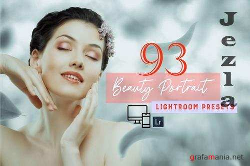 CreativeMarket - 93 Beauty Portrait Lightroom Presets 5758242
