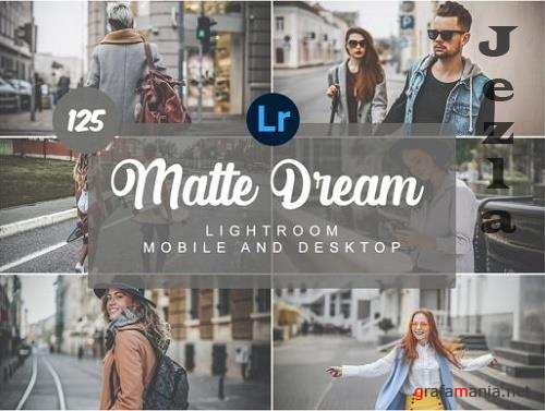 Matte Dream Mobile and Desktop Presets