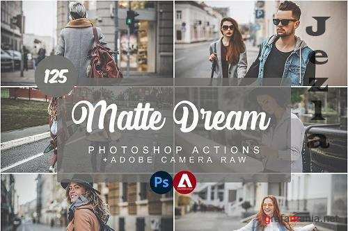 Matte Dream Photoshop Actions - 5732206