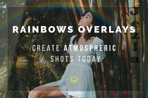CreativeMarket - Rainbow Overlays 5772731