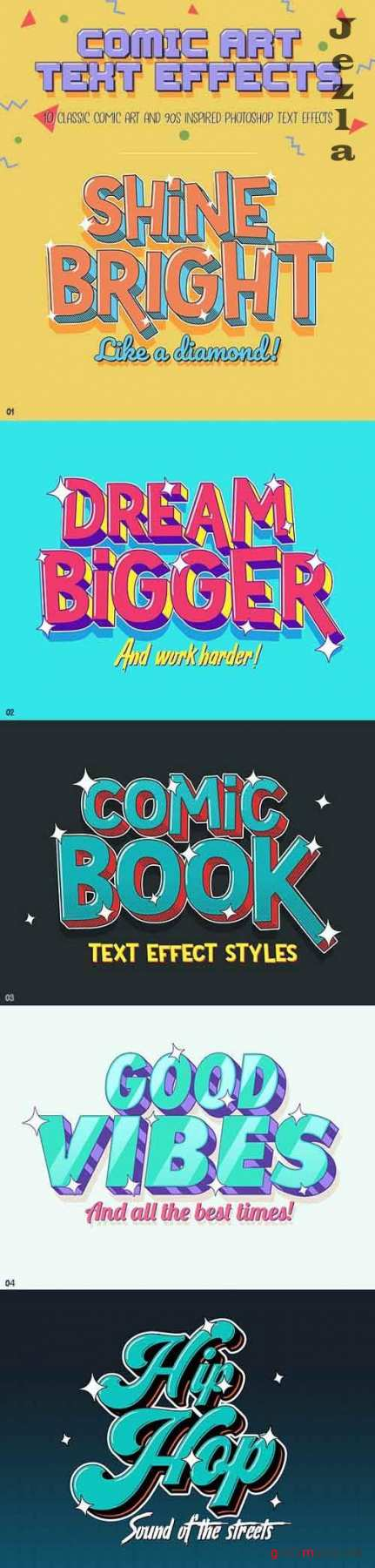 GraphicRiver - Comic Text Effects 29924988