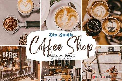 CreativeMarket - Coffee Shop Lightroom Presets 5480314